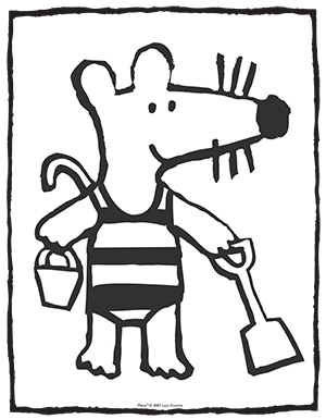 Maisy-Coloring-Page-2
